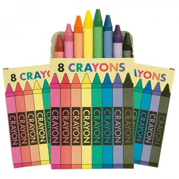 6 mini-farvebokse
