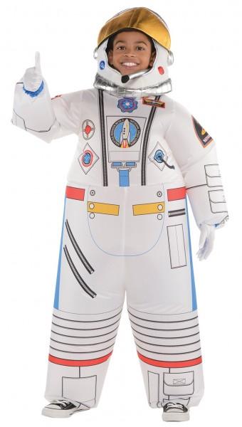 Aufblasbares Astronauten Kinderkostüm