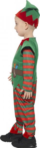 Santa's helper Christmas elf costume with hat