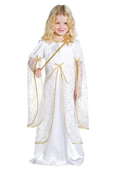 Golden angel costume for children