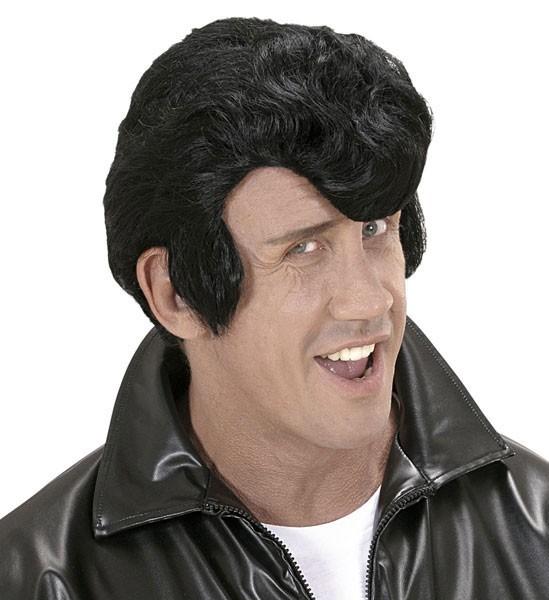 Rockabilly Perücke Mit Haarwelle