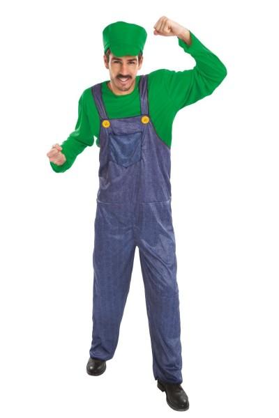 Game Racer Kostüm Grün Für Herren