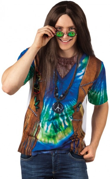 3D Peacemaker Hippie Herrenshirt