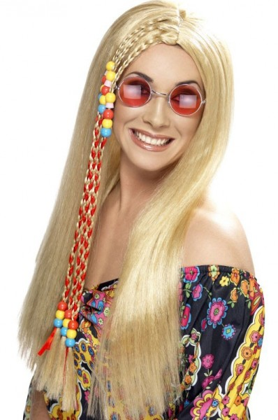 Perruque Hippie Babe Blonde
