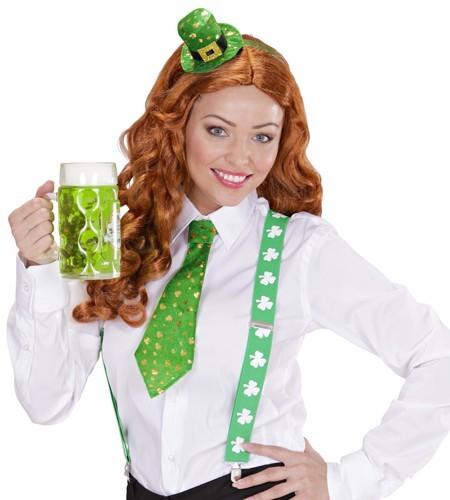 St Patricks Day Glückskrawatte