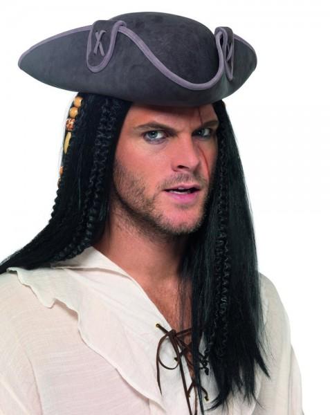 Piraten Dreispitz Hut für Erwachsene