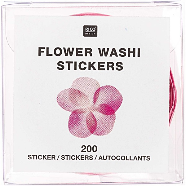 Rosa Blüten FSC Washi Tape
