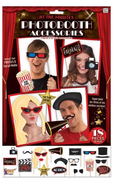 18 Movie Star Sticks für Partyfotos
