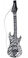 Zebra Gitarre Aufblasbar 105cm