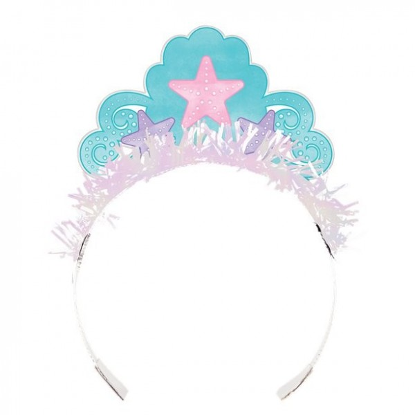 8 Mermaid Treausures Tiaras