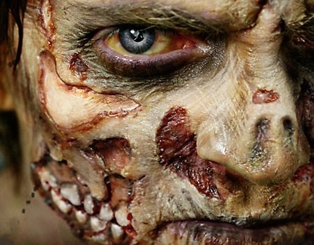 Special Zombiegesicht Make Up