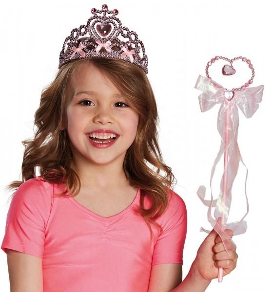 Herzförmiger Prinzessin Melissa Zauberstab