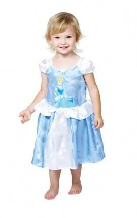 Zauberhaftes Blaues Cinderella Babykleid