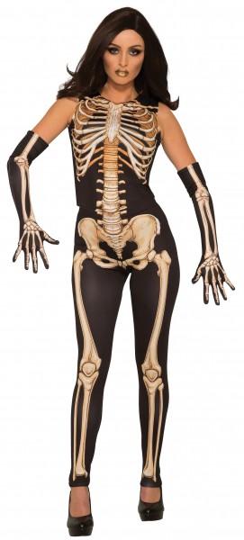Bone Lady jumpsuit ladies costume