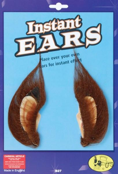 Haarige Werwolf Ohren