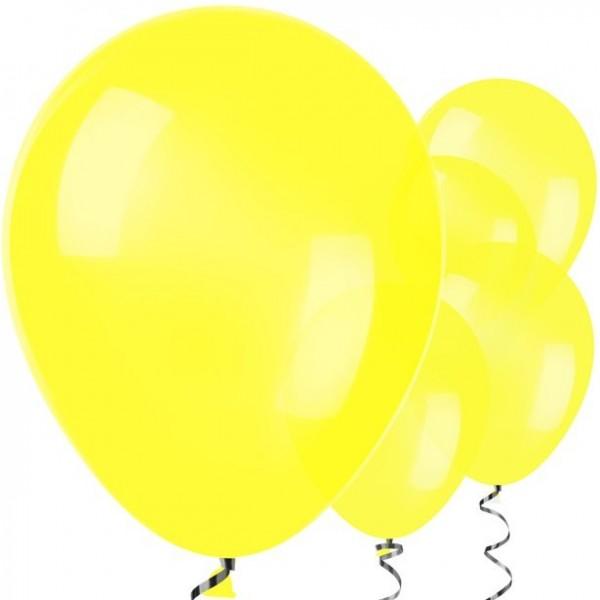50 yellow balloons Jive 30cm