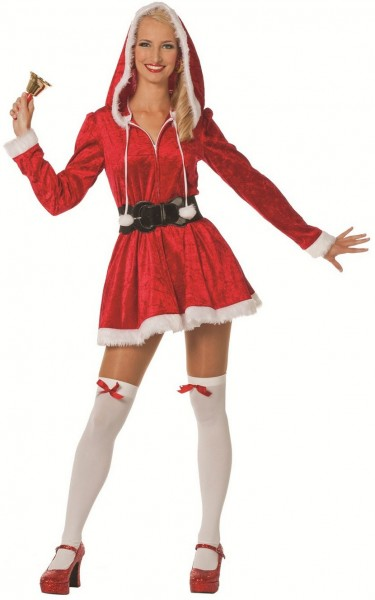 Sexy santa claus woman costume
