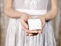 10 Geschenkboxen Herzstück roségold