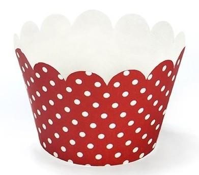 6 bordures de cupcake party coccinelle