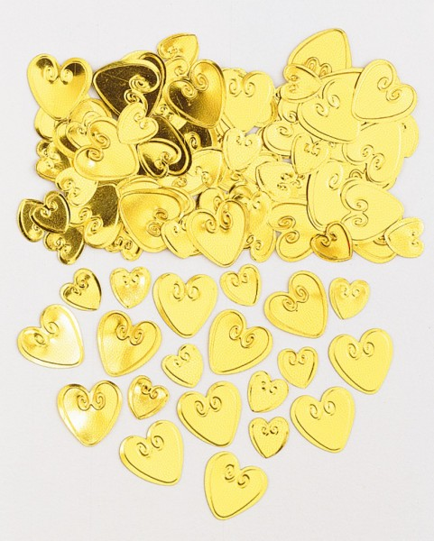 Pretty Heart Streudeko Pure Romance Gold