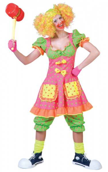 Colorful circus girl dress Lissy