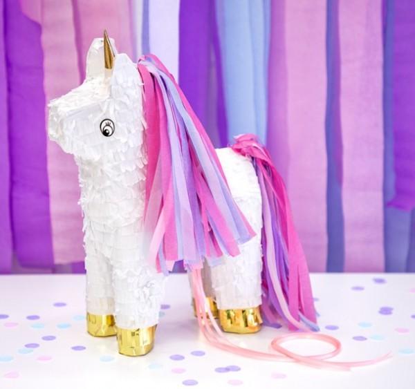 Piñata unicornio 24,5 x 34 x 9cm