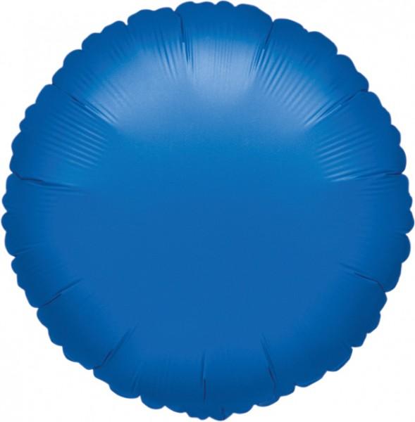 Palloncino rotondo blu 45 cm