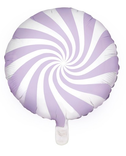 Globo de foil Candy Party lavanda 45cm