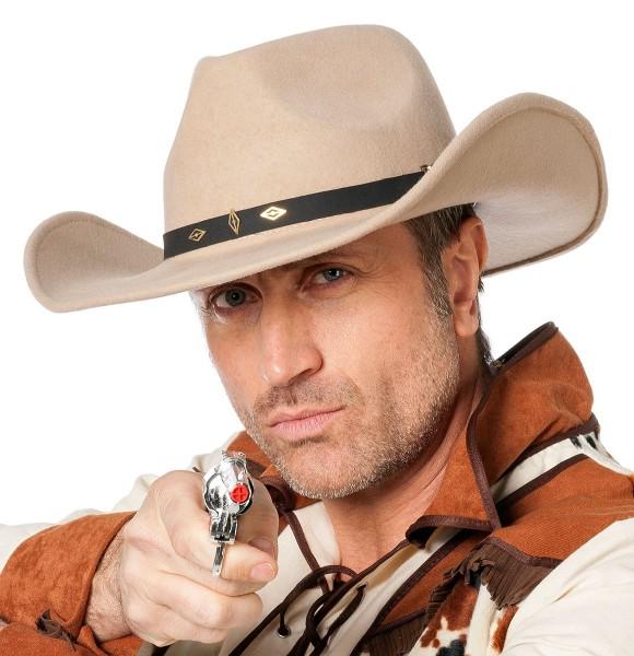 Wollfilz Western Cowboyhut Deluxe