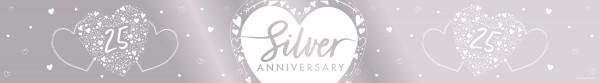 Silver Anniversary Banner 2.74m