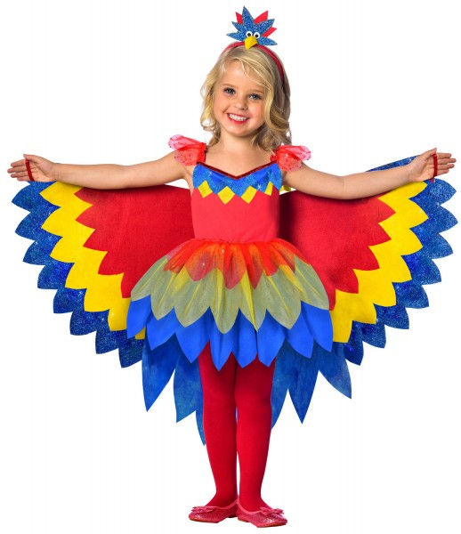 Pretty Polly Parrot Costume Children's
