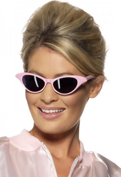 Rosa 50er Jahre Sonnenbrille Für Damen