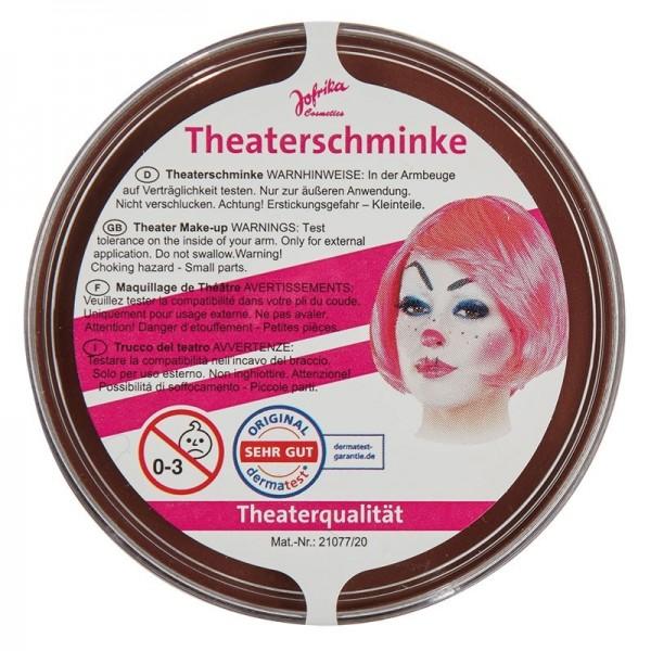Profi Theaterschminke Braun
