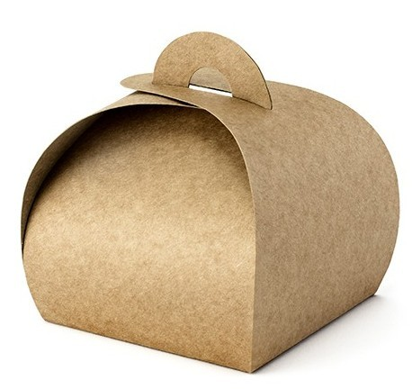 10 coffrets cadeaux en papier kraft
