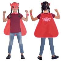 PJ Masks Owlette Umhang-Set