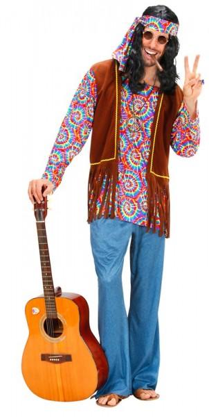 Klasyczny kostium hipisa dla mężczyzn
