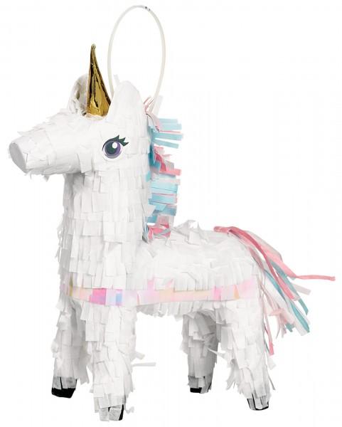 Mini unicorn pinata 18cm