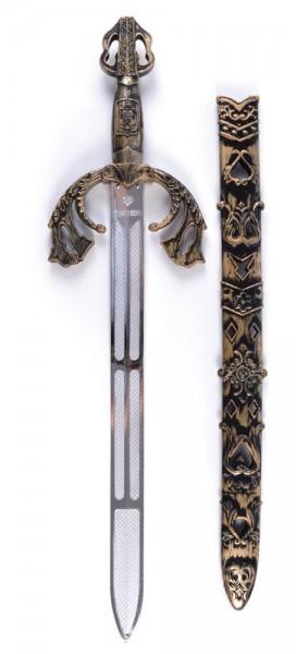Mittelalterliches Schwert Mit Hülle