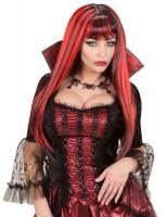 Glänzende Haarpracht Vampirella Perücke