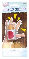 Abgetrennter Finger Scherzartikel