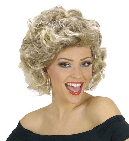 Blonde 50er Jahre Damenperücke