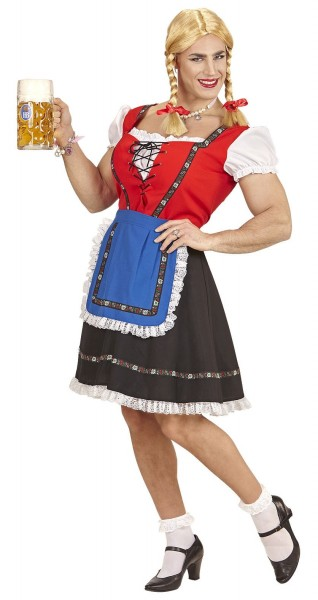 Dirndl Drag Queen Herrenkostüm