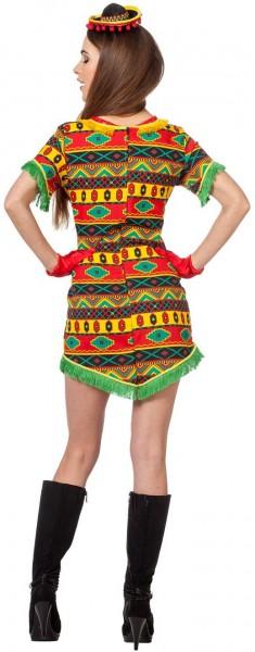 Déguisement coloré Fiesta Mexicana pour femme