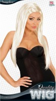 Perruque femme blonde glamour girl