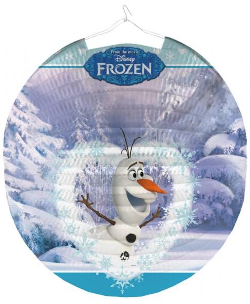 Frozen lantern winter fun 26cm