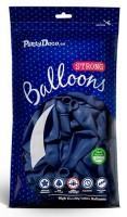 10 Partystar Luftballons königsblau 30cm