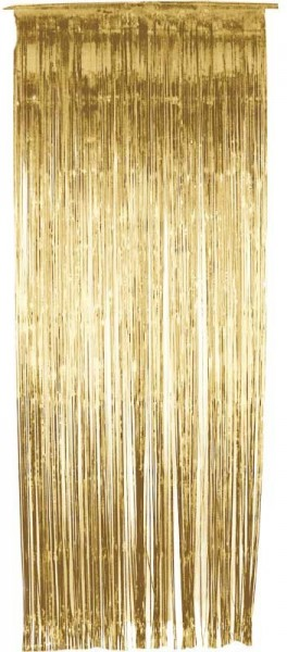 Glamor curtain gold 91cm x 2.44m