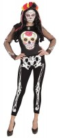 Skeleton Knochenleggins 75DEN
