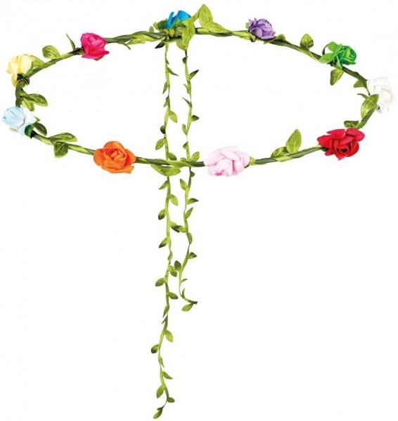 Fascia per capelli con fiorellini Rosalie