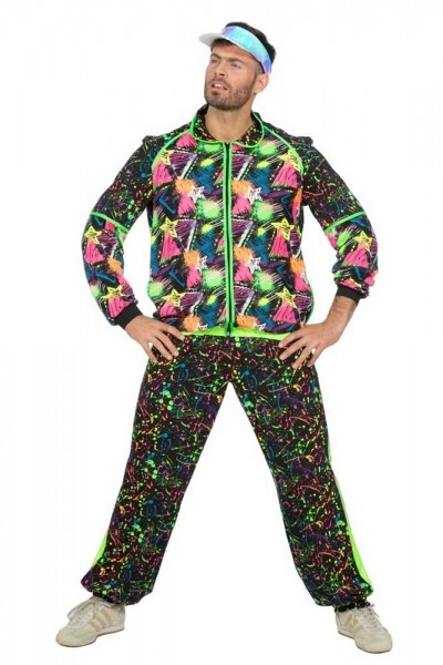 Fresher 80s neon tracksuit